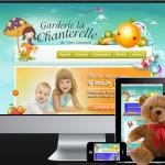 Site web Garderie la Chanterelle